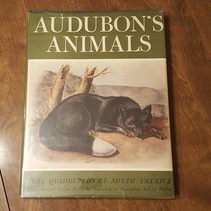 1954 AUDUBON'S ANIMALS QUADRUPEDS OF NORTH AMERICA